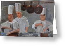 Chef's Secret Greeting Card