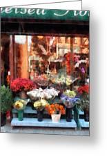 Chelsea Flower Shop Greeting Card