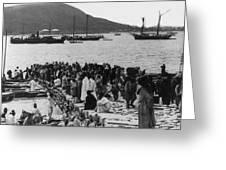 Chemulpo Harbor - Korea - 1903 Greeting Card
