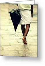 Chennai Rains Greeting Card by Vishakha Bhagat
