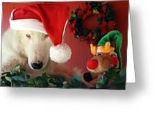 Chenoa's Santa's Helper Greeting Card