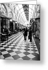 Chequered Greeting Card by Lee Stickels