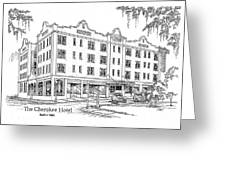 Cherokee Hotel Greeting Card