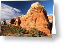 Chesler Park At Canyonlands National Park Greeting Card