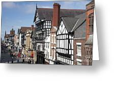 Chester City Skyline Greeting Card