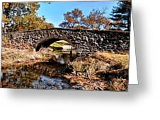 Chester County Bow Bridge Greeting Card