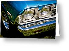Chevelle Lights Greeting Card by Phil 'motography' Clark