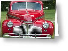 Chevrolet 1941 Greeting Card