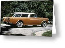 Chevrolet, 1957 Greeting Card
