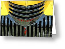 Chevrolet Shine Greeting Card