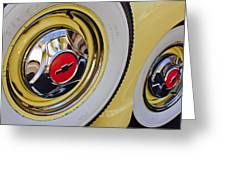 Chevrolet Tires Greeting Card
