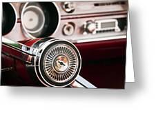 Chevy 327 Malibu Ss Greeting Card