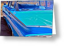 Chevy Bel Air Greeting Card