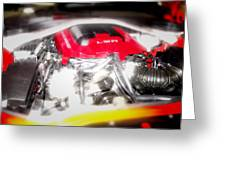 Chevy Camaro Engine Greeting Card