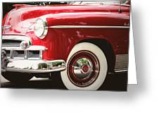 Chevy De Luxe Greeting Card