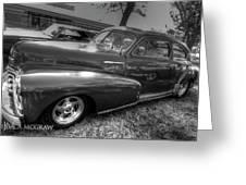Chevy Fleetline Greeting Card