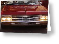 Chevy Impala Ss Greeting Card