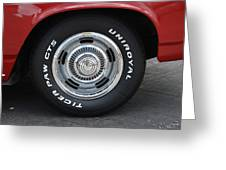 Chevy Rims Greeting Card