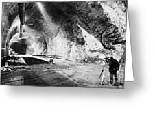 Cheyenne Mountain, 1963 Greeting Card