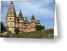 Chhatris Orchha India Greeting Card