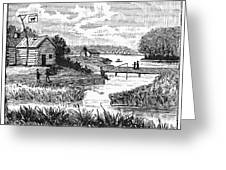 Chicago, 1833 Greeting Card