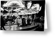 Chicago Carousel Greeting Card