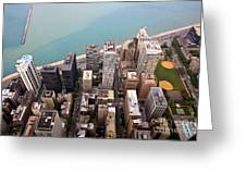 Chicago From Above 2 Greeting Card