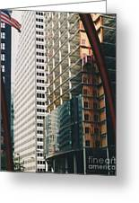 Chicago Geometry Greeting Card