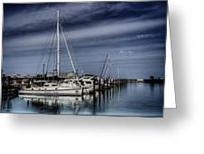 Chicago Harbor Greeting Card