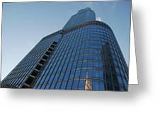 Chicago Skyscraper Greeting Card