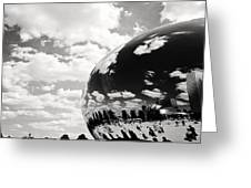 Chicago's Cloud Gate Greeting Card