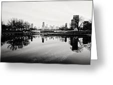 Chicago's North Pond Greeting Card