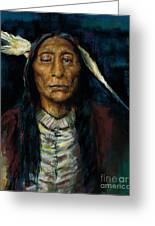 Chief Niwot Greeting Card