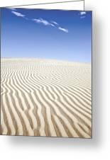 Chihuahuan Desert Dunes Greeting Card