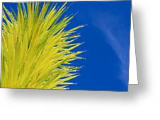 Chihuly Glass Tree Greeting Card