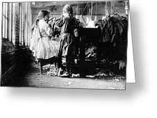Child Labor Greeting Card