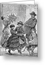 Children Dancing Greeting Card