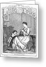 Childrens Magazine, C1885 Greeting Card