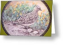 Chilean Tinamou Greeting Card