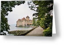Chillon Castle Greeting Card