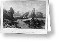 China: Wuyi Shan, 1843 Greeting Card