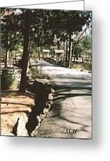 Chinqua-penn Road Greeting Card