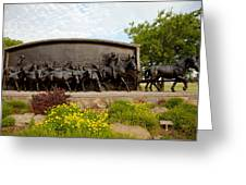 Chisholm Trail Monument Greeting Card