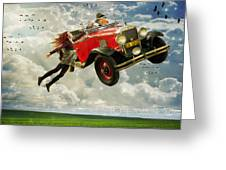 Chitty Chitty Oh No Greeting Card