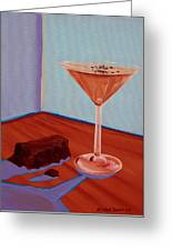Choco-tini Greeting Card