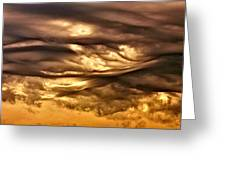 Chocolate Sky Greeting Card