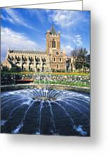 Christ Church Cathedral, Synod Hall Greeting Card