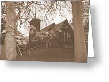 Christ Church Leeds Greeting Card