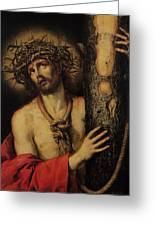 Christ Man Of Sorrows Greeting Card