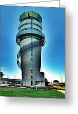 Christchurch Airport's Control Tower Greeting Card